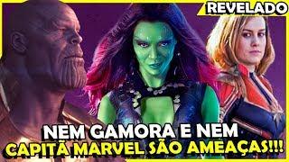 Diretores REVELAM quem é a MAIOR ameaça à Thanos (e não é Gamora e nem Capitã Marvel)