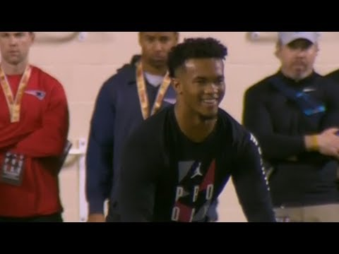 Every Throw from Kyler Murray's Pro Day