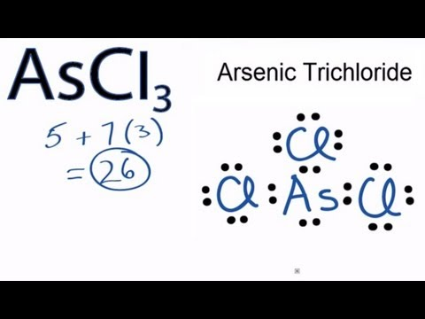 ascl3 lewis structure how to draw the lewis dot structure