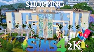 Construindo um Shopping em Newcrest (Especial 2K) │The Sims 4 (Speed Build)