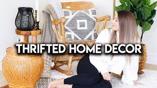 THRIFT STORE HAUL | Cute Home Decor