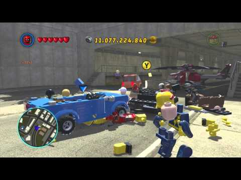 LEGO Marvel Superheroes - Aunt May Gameplay and Unlock Location