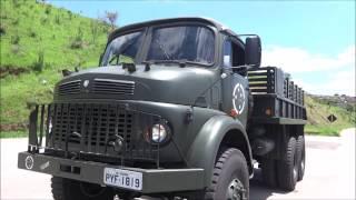 Caminhão Militar Mercedes Benz LG-1819 6x6