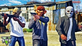 "GTA 5 HEISTS Online Gameplay | Fleeca Bank Heist Highlights ""THE FLEECA JOB"" 
