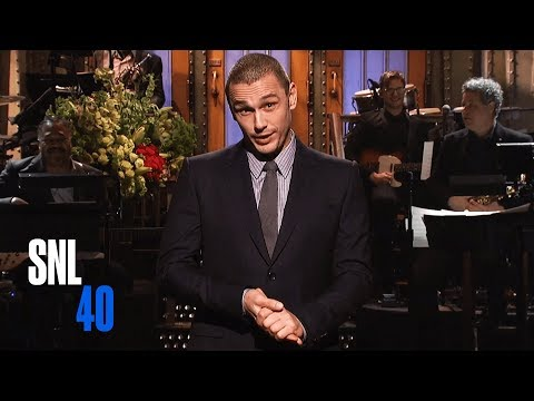 James Franco Monologue - Saturday Night Live