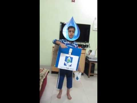 Fancy Dress Water Fancy Dress Save Water