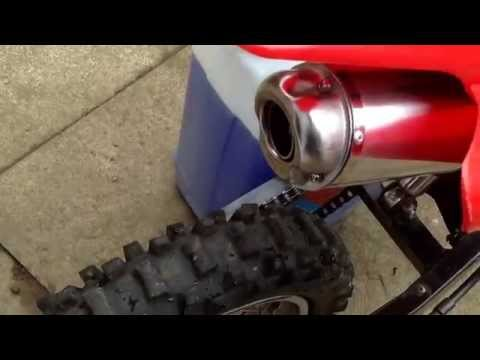110cc pit bike big bore exhaust