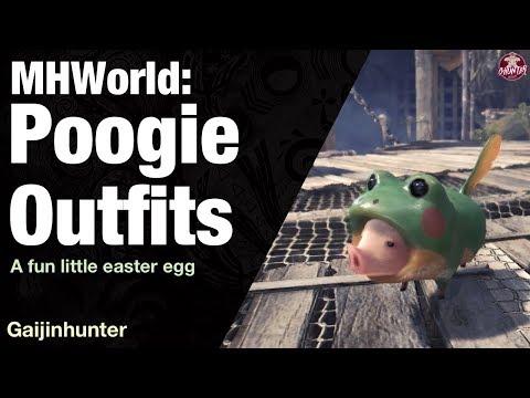 Monster Hunter World: Poogie Costumes