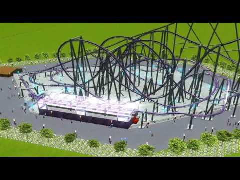 rct3 roller coaster tycoon 3 Purple Rain HQ Video