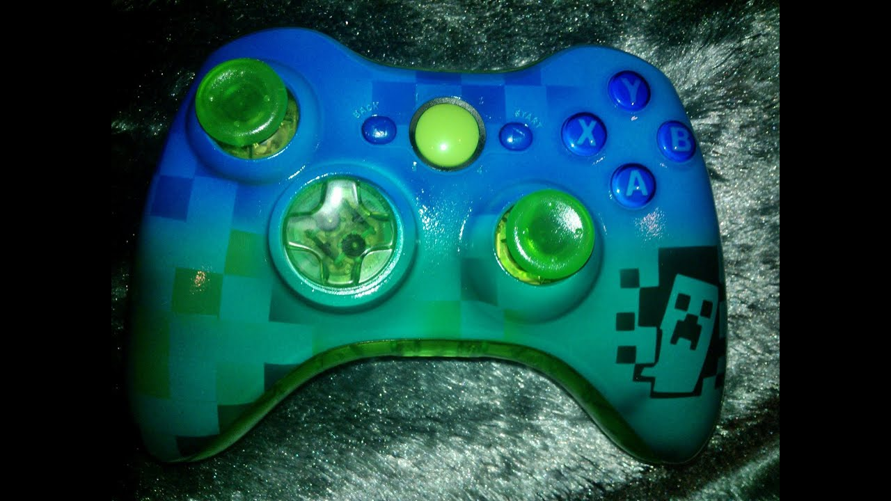 Xbox 360 Controller Custom Minecraft Xbox 360 Custom Controller