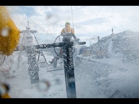 A Hard Finish to a Hard Leg - Volvo Ocean Race 2011-12