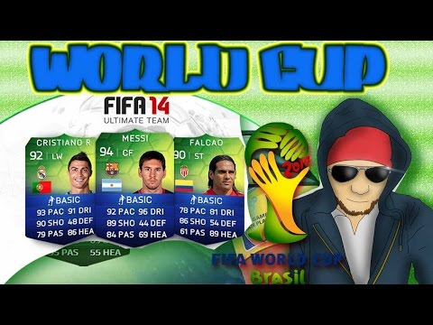 FIFA 14, Ultimate Team, WORLD CUP, BRASIL} OPEN PACK, #4 POR MESSI