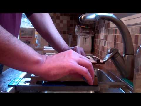 Sharpening a Kitchen Knife Lesson #6