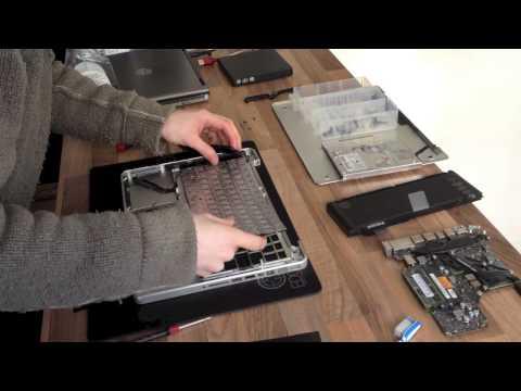 Let's Fix Computers Ep.2 - MacBook Pro Keyboard Swap