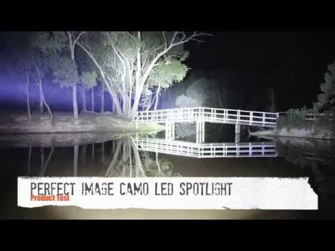 Perfect Image Camo LED Rechargeable Spotlight