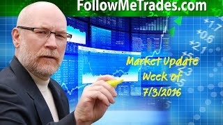 These are the times that try Traders souls 7-3-16 Market Update