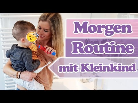 SO STARTEN WIR IN DEN TAG - Morgenroutine mit Kleinkind/ Kind  SaskiasBeautyBlog