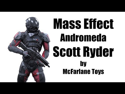 Darktoylord Reviews: Mass Effect Andromeda Scott Ryder by McFarlane Toys