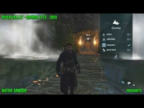 Assassins Creed Rogue - All Native Pillars - How to get the Native Armour - Ancient Hero Achievement