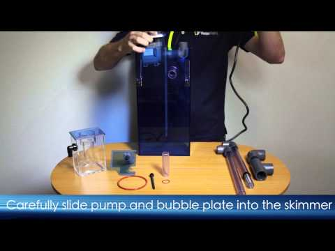 AquaMaxx HOB-1 Protein Skimmer: How to Assemble