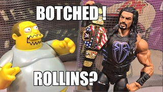 WWE ELITE 72 SETH ROLLINS FIGURE REVIEW! WITH UNIVERSAL CHAMPIONSHIP BELT!