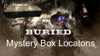 Black Ops 2 Zombies - Buried Mystery Box Locations