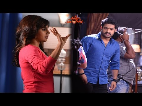 Jr. NTR's Rabasa Movie Exclusive Working Stills - Samantha, S.Thaman