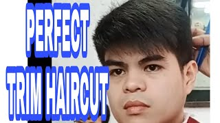 TRIM HAIRCUT the best,simple and easy haircut