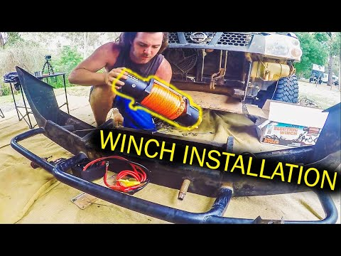 Winch Installation with Remote Switch and Review