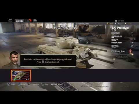 WORLD OF TANKS PS4 WOT