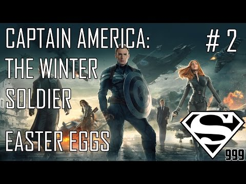 Captain America: The Winter Soldier: Hidden Easter Eggs & Secrets Part # 2