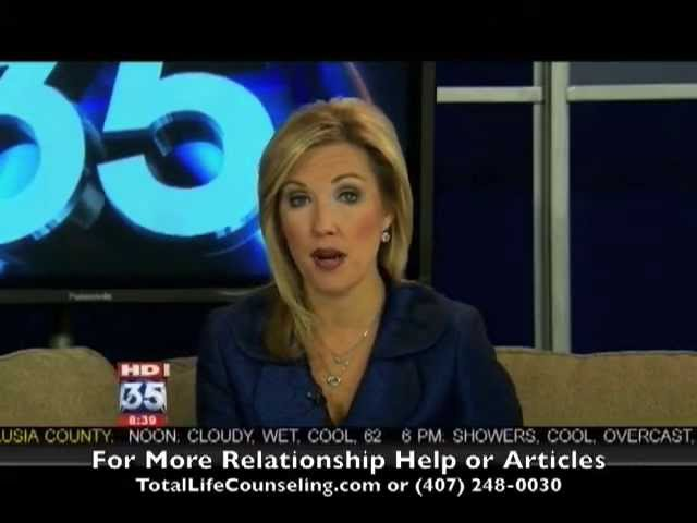 Orlando Marriage Therapist | Surviving an Affair Tiger Woods | Fox 35 Counseling Video Tips