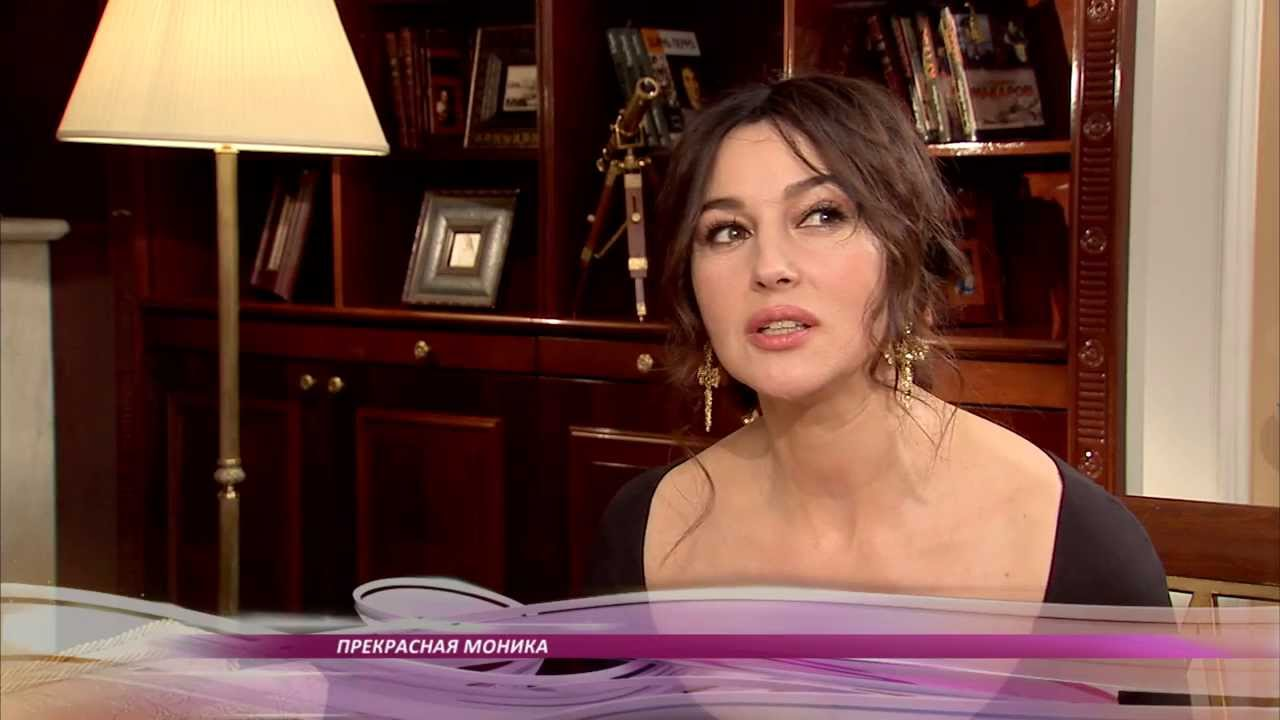 Monica Bellucci Interview Interview With Monica Bellucci