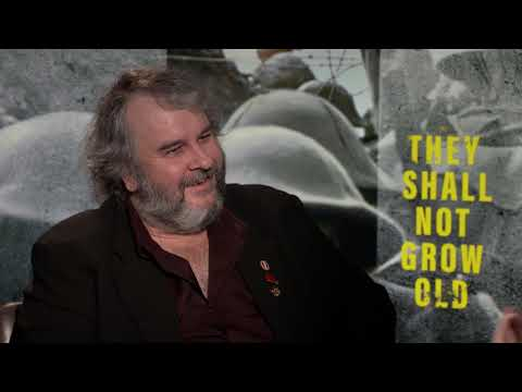 THEY SHALL NOT GROW OLD - Peter Jackson Interview About His Revolutionary WW1 Documentary