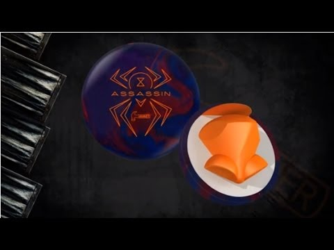 Hammer Black Widow Assassin Bowling Ball Reaction
