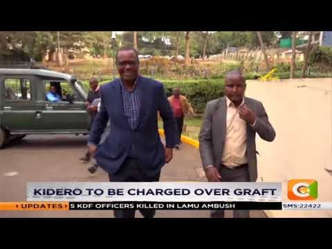 Ex-Nairobi Governor Evans Kidero to appear in court today