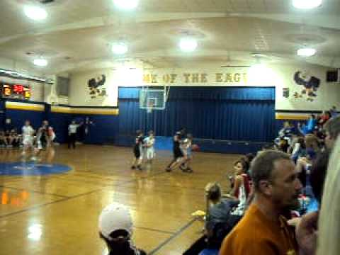 Kevin Kemp Lee Christian School Basketball 12/3/10 Part 3