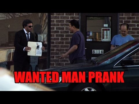 Wanted Man Prank