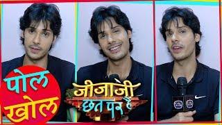 Nikhil Khurana aka Jijaji Of Jijaji Chhat Par Hai Revals Secret Of Sets | Pol Khol  | TellyMasala