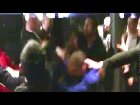 Dereck Chisora brawls with David Haye at Klitschko post-fight press conference