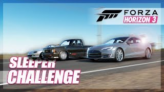 Forza Horizon 3 - Insane Sleeper Challenge! (Funny Moments/Challenges)