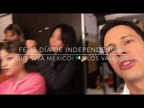 KAROL SEVILLA, CARO VALSAGNA Y DAVID MURI LES DESEAN FELIZ DÍA D INDEPENDENCIA MEXICO DSD SOY LUNA