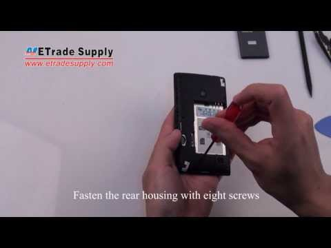 Nokia Lumia 520 Reassembly Tutorial - LCD Display or Digitizer Touch Screen Replacement