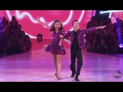 Sky Brown & JT Church - Dancing With The Stars Juniors (DWTS Juniors) Episode 2