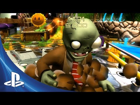 Plants vs. Zombies Zen Pinball Machine