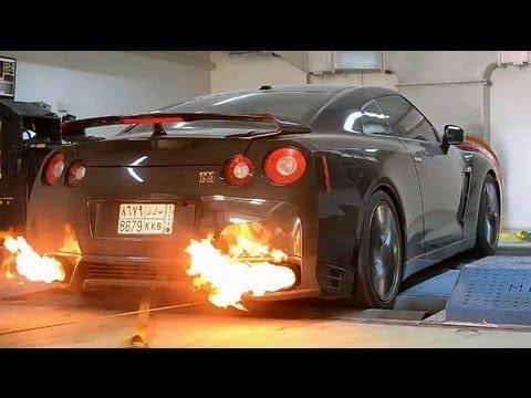 1100whp Nissan GT-R in Dubai
