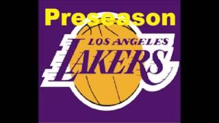 Lakers 2017 Preseason Schedule
