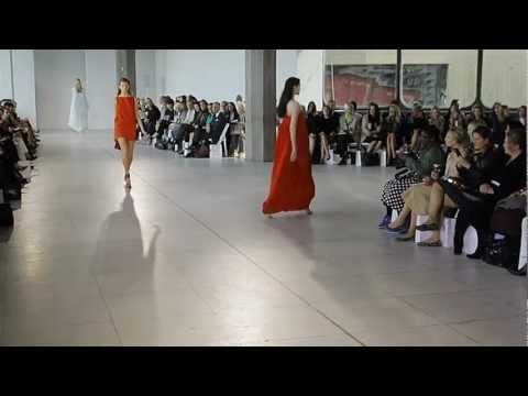 Antonio Berardi Ss12 Video By Xxxx Magazine video