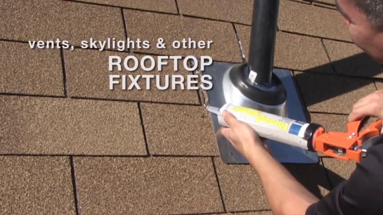 How To Stop Roof Leaks With Through The Roof Youtube