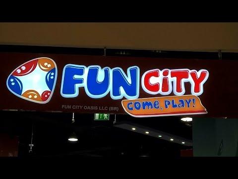 Buhay ng Pinoy sa Dubai || Amazing Fun City for Kids